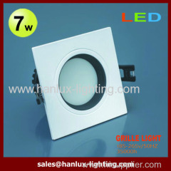 7W 490LM SMD grille lighting