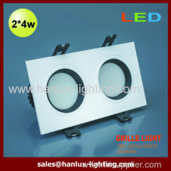 8W 560LM SMD grille lighting