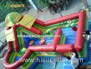 Huge Inflatable Combo Castle Bouncy Slide With Jumping Backyard