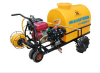 Self-contained Trolley Gasoline Engine Power Sprayer diaphragm pump plunger pump power boom sprayer 300liter