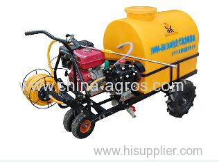 Self-contained Trolley Gasoline Engine Power Sprayer diaphragm pump plunger pump power boom sprayer 300liter