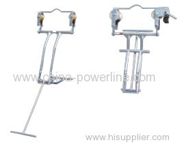 Single Line Aerial conductor space cart