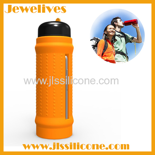 silicone drink bottle hold iphone
