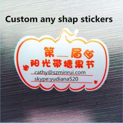 custom design cute sticker