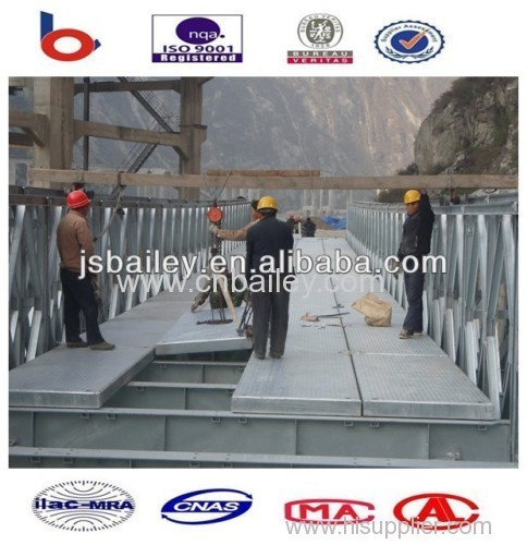 galvanized portable bailey bridge