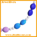 silicone rubber chew beads necklace