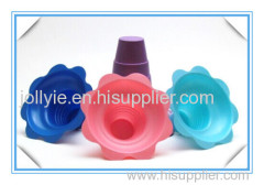 4 oz flower cup shave ice cup