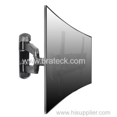Universal Cable Invisible Curved TV Wall Mount