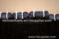 40cm Vietnamese hair weft texture straight silky soft