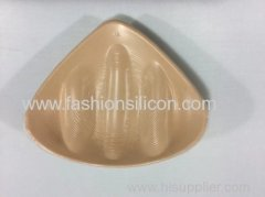 New design triangle light weight silicon breast forms