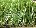 Poly Ethylene Sport Football Artificial Grass Lawn , Fake Turf Grass