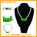 silicone beads necklace Hawaii style