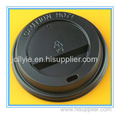 Hot coffee cup lid drinkig lids