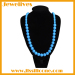 Silicone necklace wholesale soft for chewing