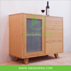 Simple Style Bamboo Cabinet For Home Furniture