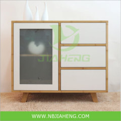 Bamboo Cabinet For Home Furniture With Snow Drawer
