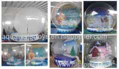 Inflatable Christmas Snow Ball