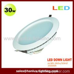 30EW 3000lm LED Downlight