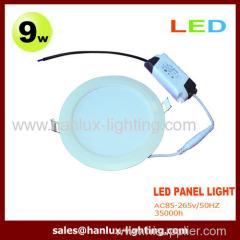 9W 810lm LED panel light