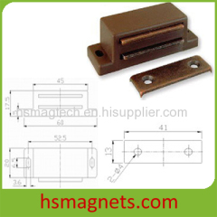 Magnetic Door Catcher Holder Stopper with NdFeB Block Clamp Magnets