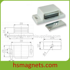 Magnetic Assembly Permanent Magnetic Door Cabinet Catcher