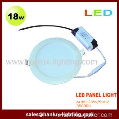 18W 1620lm LED panel light