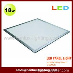 18W 1530lm LED panel light