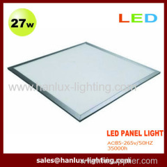 27W 2295lm LED panel light