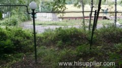 Coating Welded Wire Fence For residential areas