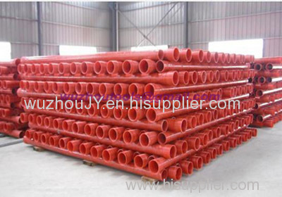 WuZhou CPVC High-voltage power pipe to protect the power cable