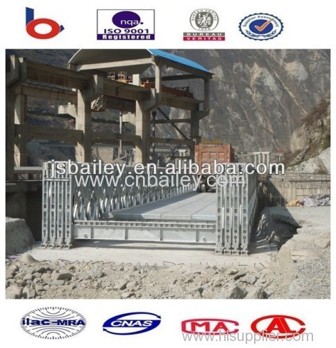 Galvanized Temporary Bailey Steel bridge
