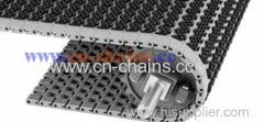 Conveyor belt oval friction top 1400 plastic modular belt