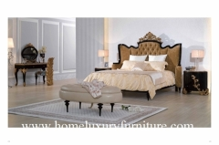 Kingbed Classic bedroom sets hight quality France Style bedroom furniture price