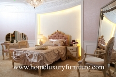 Children Bed sets neo classical bedroom sets furniture queen bed Solid wood Bed