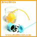 hot selling silicone tea infuser rose shape