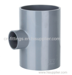 upvc reducing tee pipe fittings