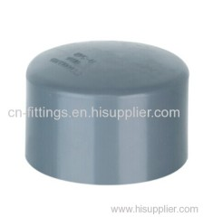 upvc end cap pipe fittings