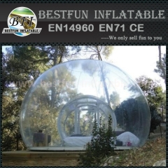 PVC transparent bubble relaxing tent