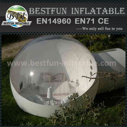 Top quality igloo inflatable clear tent