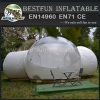 Guangzhou inflatable bubble tent with compartment