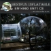 Winter Inflatable clear tent for Christmas