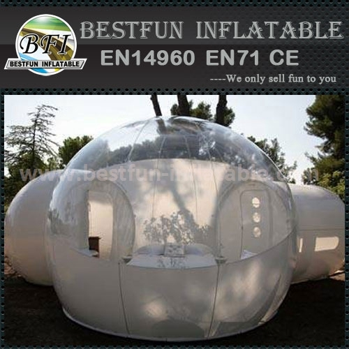 Transparent inflatable bubble tree dome tent