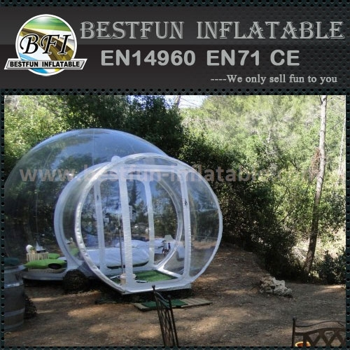 Hot welding workmanship bubble tree tent