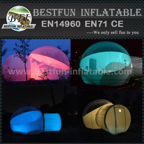 Family inflatable lawn tent
