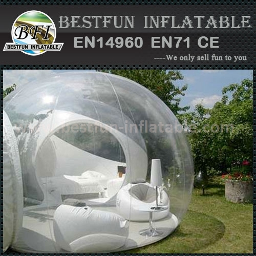 Inflatable camping tent for outdoor barbecue