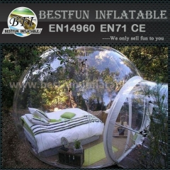 Movable inflatable transparent gazebo for sale
