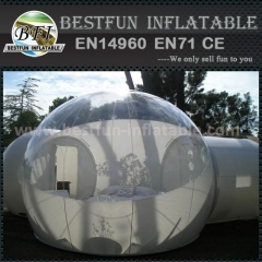 Outdoor exhibition inflatable bubble tent for sale