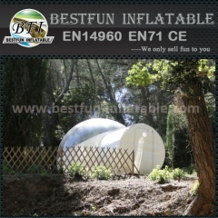 Commercial inflatable exhibition clear bubble tent