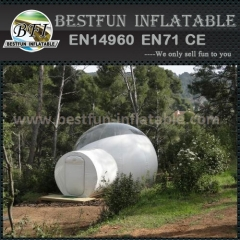 Outdoor advertising inflatable clear bubble tent