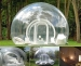 Inflatable bubble tent for christmas decoration